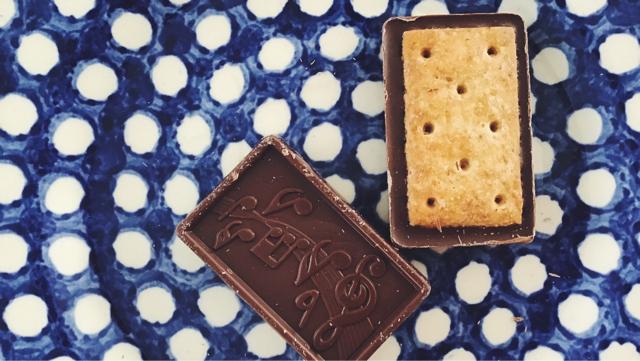 トップバリュ板チョコクッキー