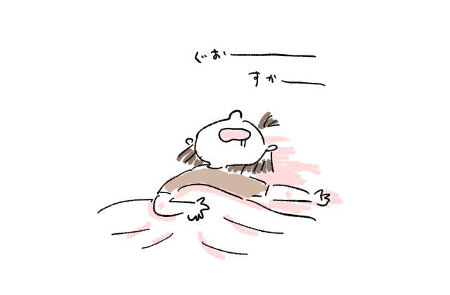 二度寝 母